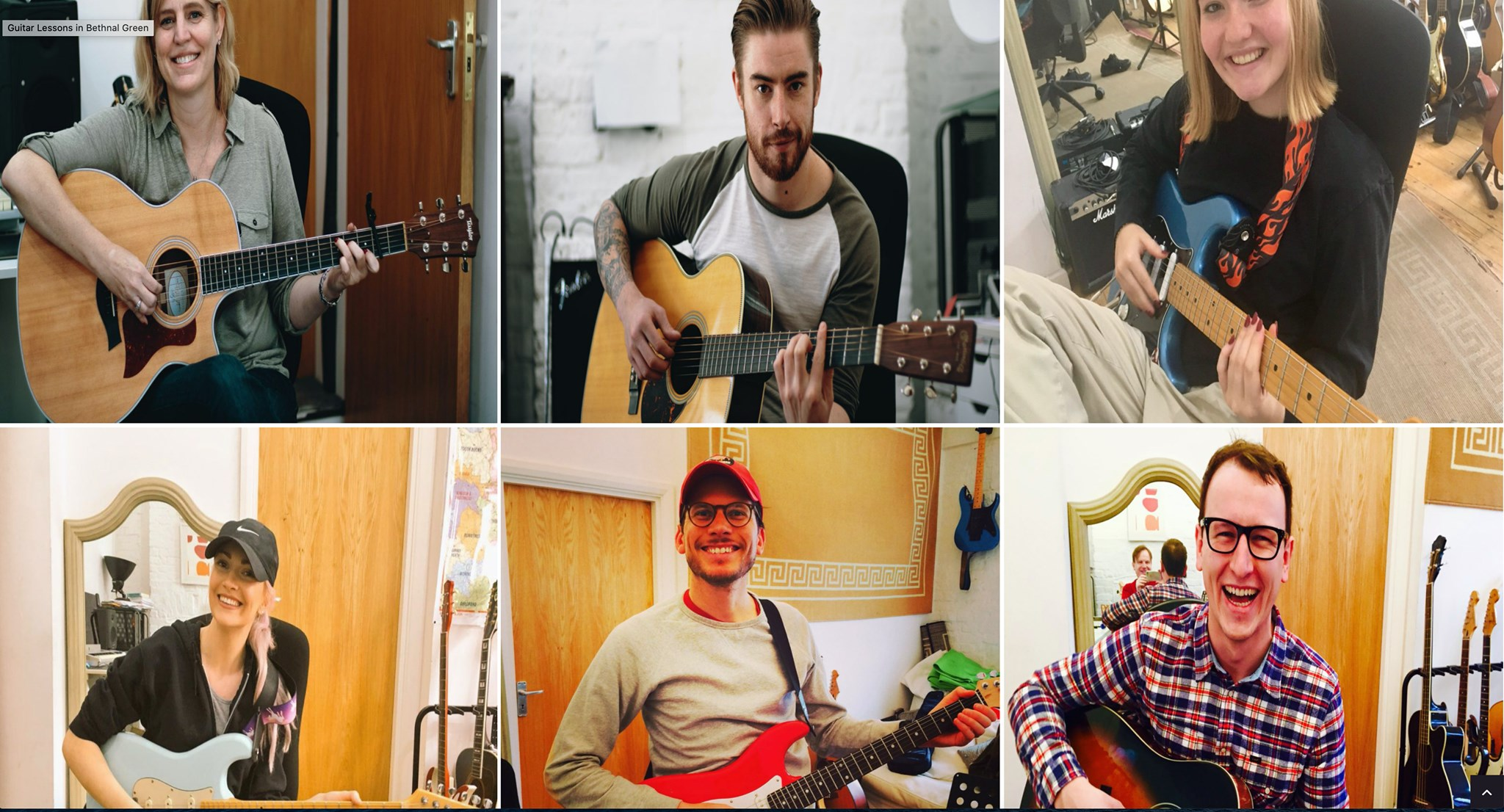 Contact Guitar Lessons London
